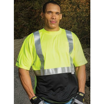 Game Sportswear: Black Bottom Hi-Vis T-Shirt