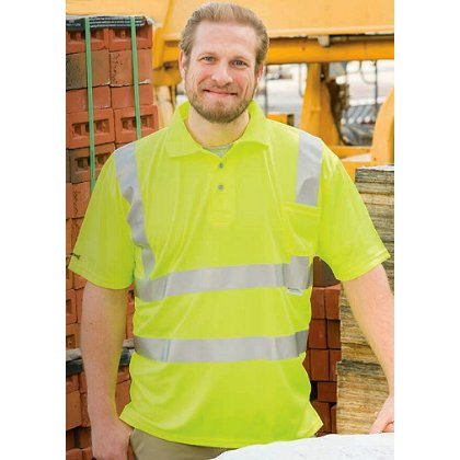 Game Sportswear: Foreman Hi-Vis Polo