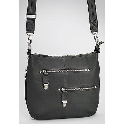 GTM Concealed Carry Chrome Zip Handbag