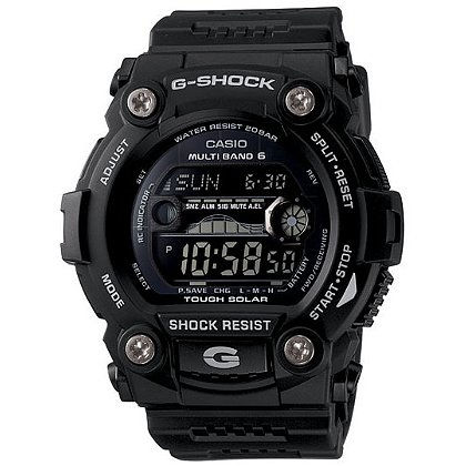 Casio: G-Shock G-Rescue Solar Atomic Watch, Tide/Moon, Black