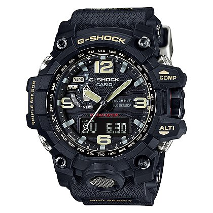 Casio: G-Shock Mudmaster Solar Atomic Watch