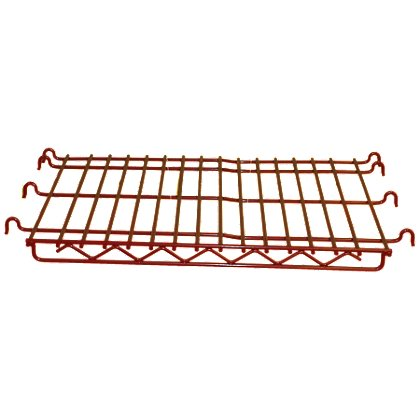 Groves Wall Mounted Red Rack Shelf
