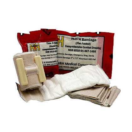 H & H Medical Corporation Thin H-Bandage