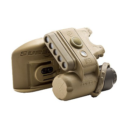 Surefire HL1-B-TN Helmet Light, 3 White, 2 Infrared, I Infrared IFF