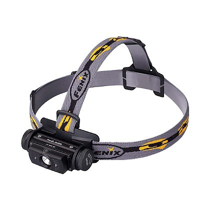 "Fenix: HL60R Rechargeable Headlamp, 950 Lumens, 1 18650 Li-ion Battery or 2 CR123A Batteries, 3.4"" Long"