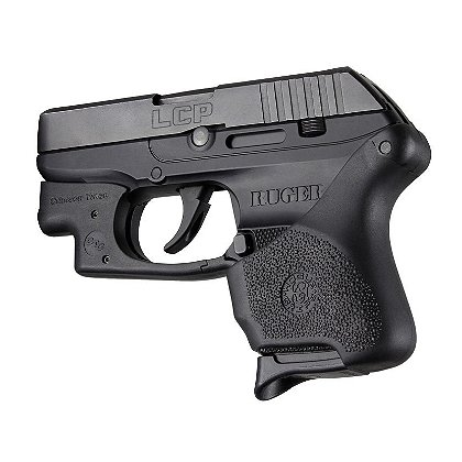 Hogue Handall Hybrid Grip Sleeve Total Ruger LCP .380 With Laser Button