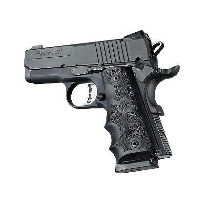 Hogue: Colt Officers Model Rubber Grip w/ Finger Grooves