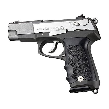 Hogue: Ruger P85 - P91 Rubber Grip with Finger Grooves