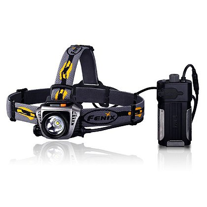 Fenix: HP30 CREE LED Headlamp with Belt Mounted Battery Pack, 900 Lumens