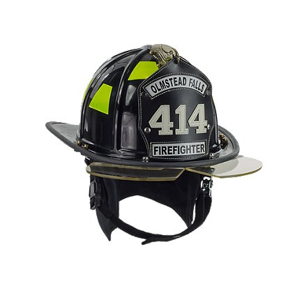 Honeywell: The EV1 Traditional Firefighting Helmet, with Internal EZ TouchFace Eye Protection, NFPA