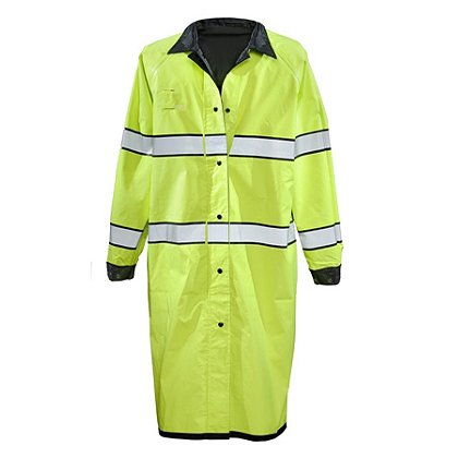 Gerber Outerwear: Pro Dry Duty Raincoat, ANSI 107:2010 Class 3