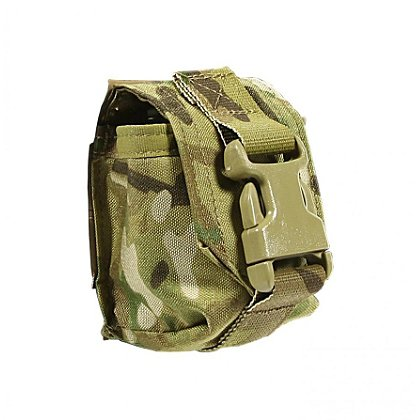 Blue Force Gear: Helium Whisper Single Frag Grenade Pouch with Flap
