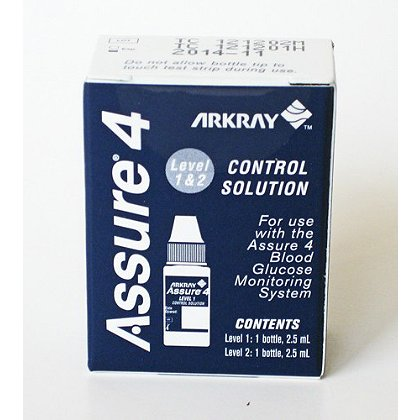 Arkray Assure 4 Control Solution - Assure 4 Glucometer Level 1&2
