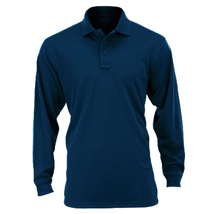 Elbeco: Ufx Performance Tactical Men's Long Sleeve Polo