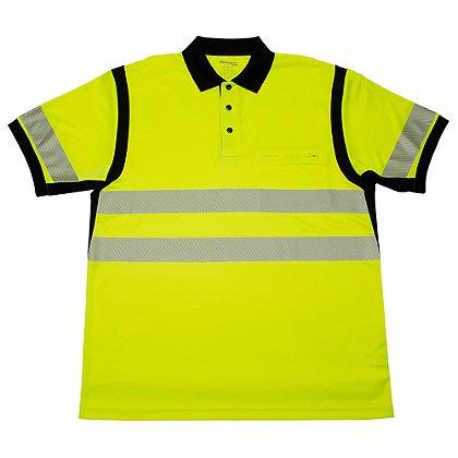 Elbeco: Ufx Ultra-Light Tactical Short-Sleeve Hi-Viz Polo Shirt