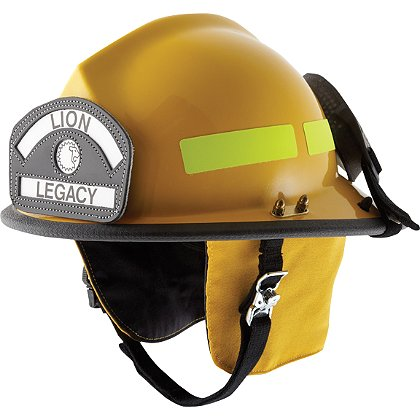 Lion: Legacy 5, Low-Profile Modern Helmet, NFPA