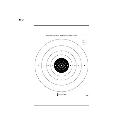 LET, Inc Standard Paper Targets, 50 ct