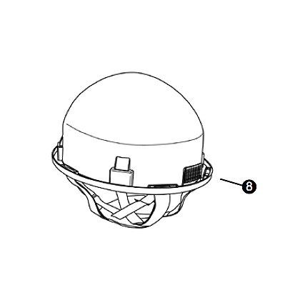 Lion Headband Liner for American Classic Helmet