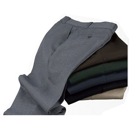 Liberty Uniforms: Women's Twill Polyester Trousers, Unhemmed