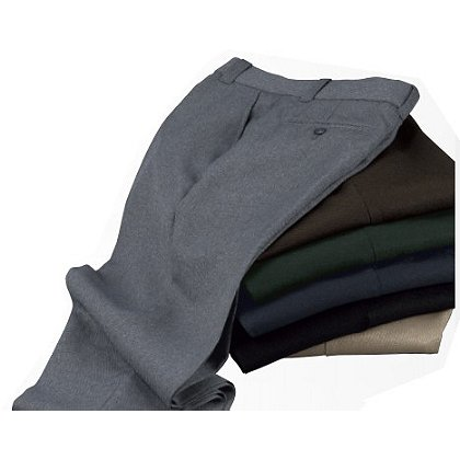 Liberty Uniforms: Men's Twill Polyester Trousers, Unhemmed