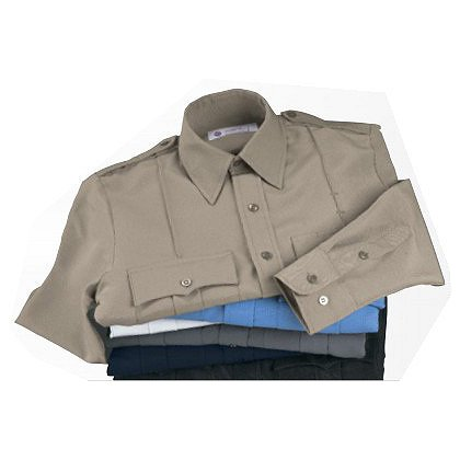 Liberty Uniforms Long Sleeve Polyester Shirt