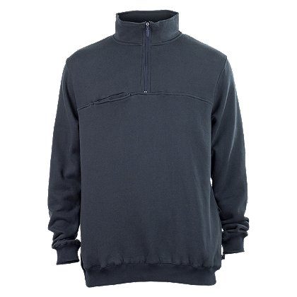 Lion StationWear: 1/4 Zip Job Shirt