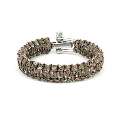 Survival Straps: Paracord Survival Bracelet, Ladies/Kids Desert Camo