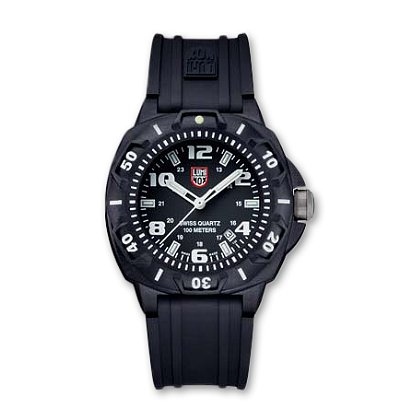 Luminox: SENTRY 0200 Series, Black Polymer Case and Polyurethane Rubber Band