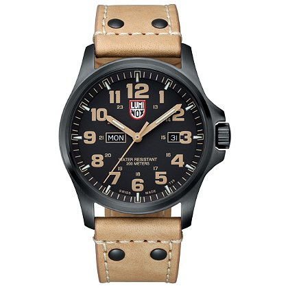 Luminox: Atacama Field Day/Date 1920 Series, Black Dial/Tan Markings