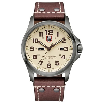 Luminox: Atacama Field Day/Date 1920 Series, Ivory Dial/Brown Markings