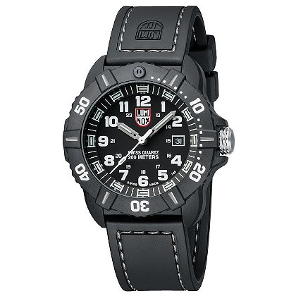 Luminox: Coronado 3021, Black Dial w/ Gray Markings