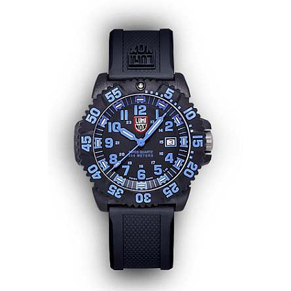 Luminox: Navy SEAL COLORMARK 3050 Series Dive Watch, Polyurethane Band