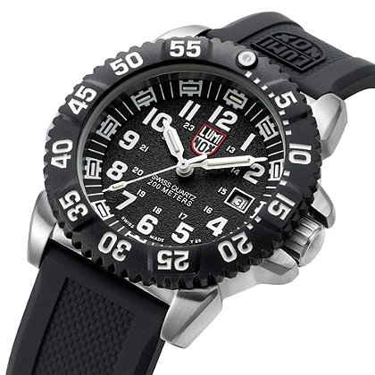 Luminox: Steel COLORMARK 3150 Series, Navy SEAL Dive Watch, Steel Case