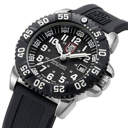 Luminox: Steel COLORMARK 3150 Series, Navy SEAL Dive Watch, Steel Case