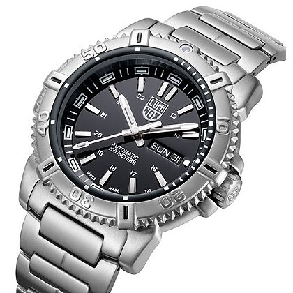 Luminox: Modern Mariner Automatic 6500 Series 45mm, Black Dial