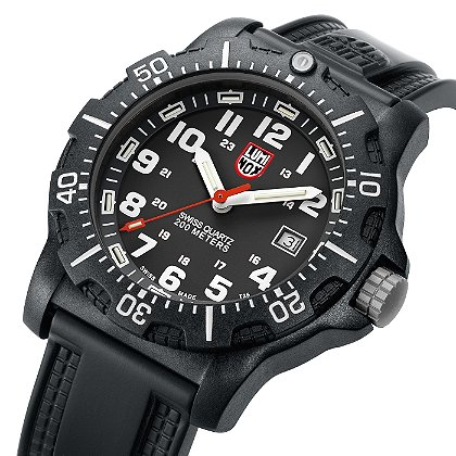 Luminox: Black Ops Carbon 8800 Series, Black Dial/White Markings