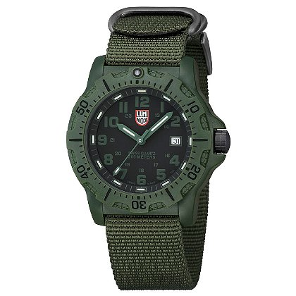 Luminox: Black Ops Carbon 8800 Series, Black Dial/Olive Markings