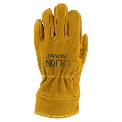 Lion Patriot Leather Structural Firefighting Glove, NFPA