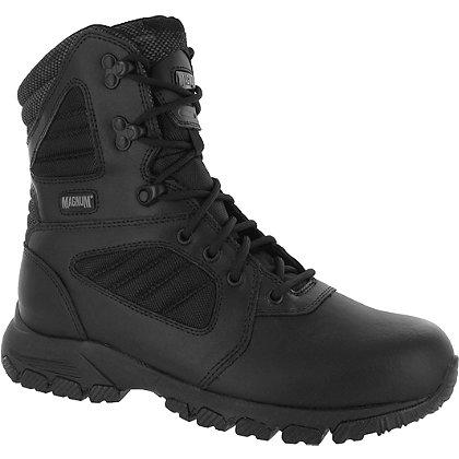 """Magnum Response III 8.0 8"""" Men's Tactical Boots, Black, Side Zip"""