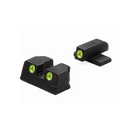 Meprolight: Bersa Thunder 9, 40, and 380, TRU-DOT Fixed Night Sight Set, Green