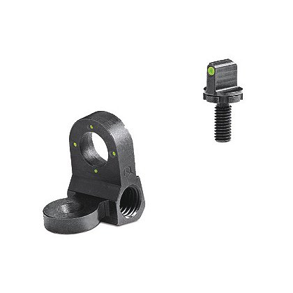Meprolight Peep 4-Dot Rear Night Sight Set, Green, for AR-15, M-16A1 and Clones