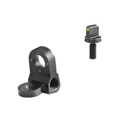 Meprolight: Peep 4-Dot Rear Night Sight Set, Green, for AR-15, M-16A1 and Clones