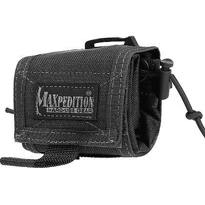 Maxpedition Rollypoly™ Folding Dump Pouch, Black