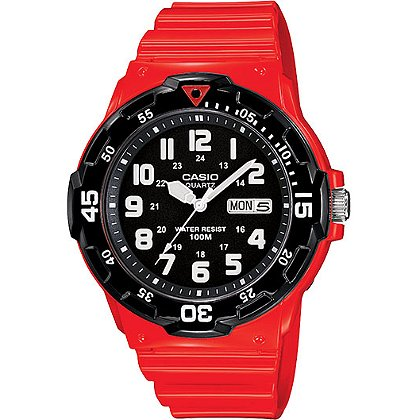 Casio Classic Analog Watch Black Dial
