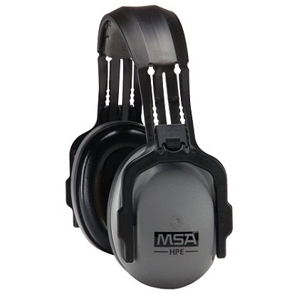 MSA HPE Headband Earmuff, Passive Hearing Protection