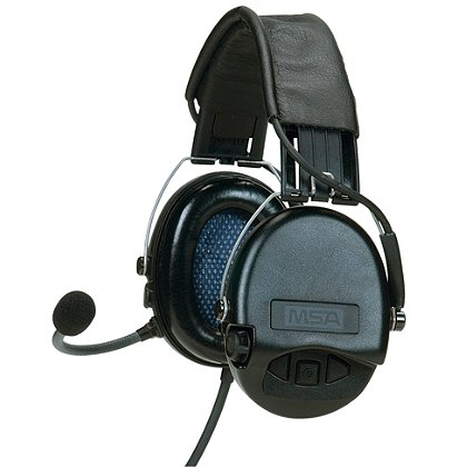 MSA Supreme Pro Headset, High Noise Communications System