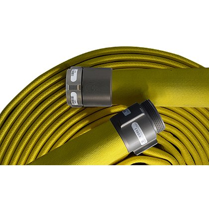 Mercedes: Fire Boss Permatek Treated Single Jacket Forestry Hose with Aluminum Coupling