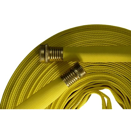 Mercedes Textiles Yellow Myti-Flo Hose with GHT Coupling