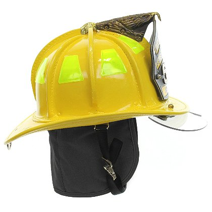 Cairns N5A New Yorker Yellow Leather Helmet, OSHA