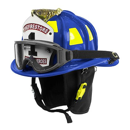 Cairns N6A Houston Blue Leather Helmet
